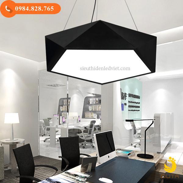 Bộ đèn thả trần văn phòng hình học 36w mã DT-1107