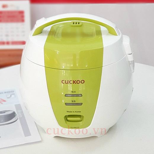 Nồi cơm điện Cuckoo CR-0661G 1.08L