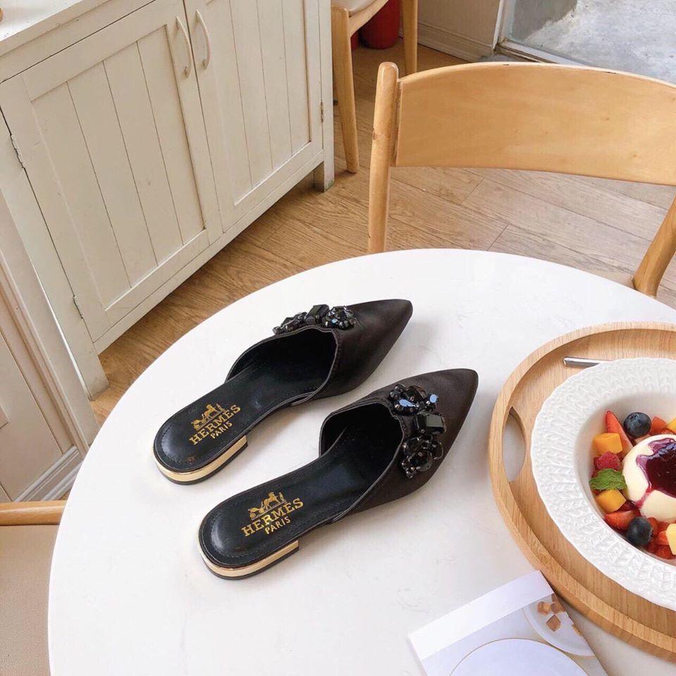 Giày dép thời trang nữ cao cấp Hermes