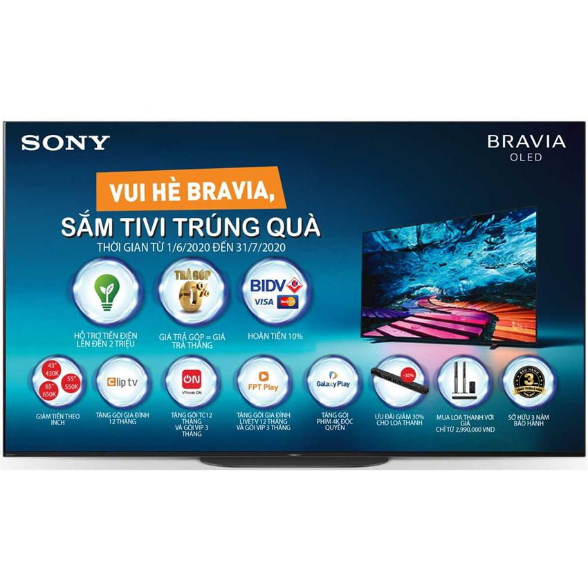 Tivi Oled Sony KD-55A9G-55 Inch 4K HDR
