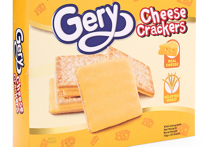Bánh qui vị phô mai Gery 200g(T12)