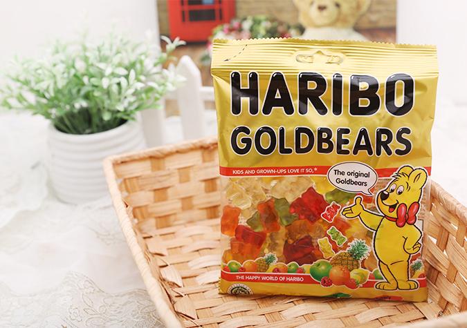 Kẹo dẻo trái cây Haribo Goldbears gói 160g
