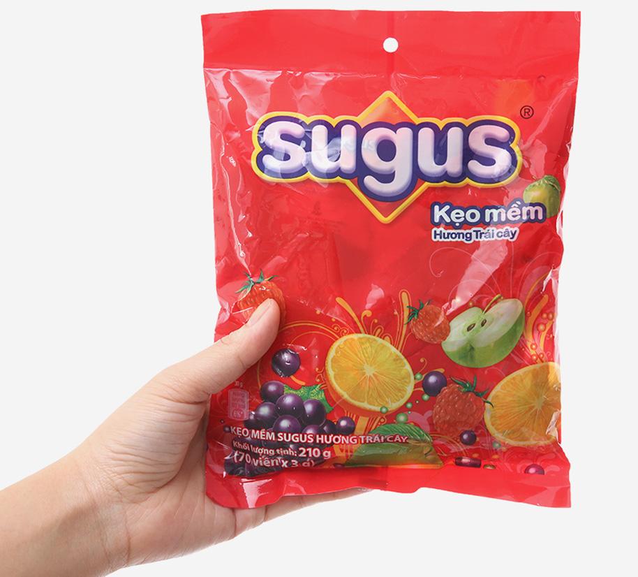 Kẹo mềm hương trái cây Sugus gói 210g