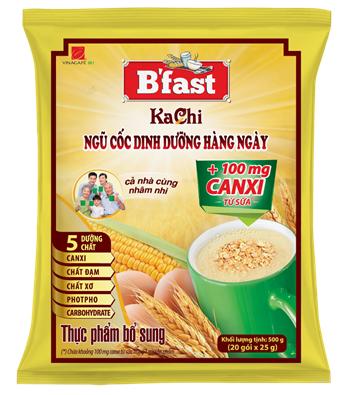 Sữa Hạt Ngũ Cốc B'Fast Canxi 20góix25g