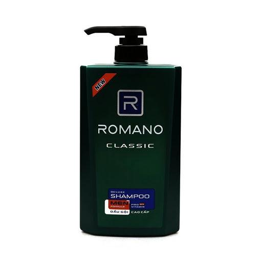 Dầu gội Romano Classic chai 650g