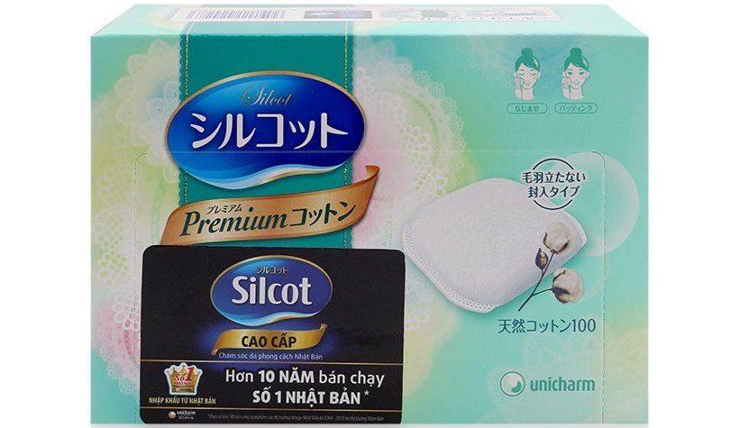 Bông trang điểm Silcot Premium 66 miếng