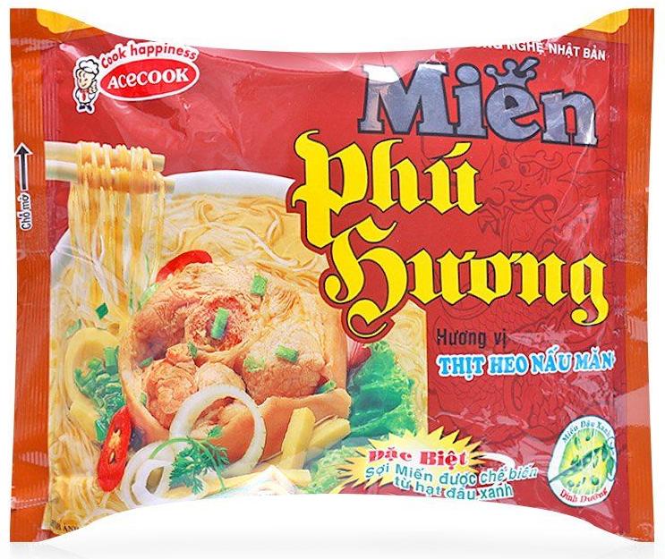 Miến ăn liền Phú Hương vị thịt heo nấu măng Acecook gói 57g