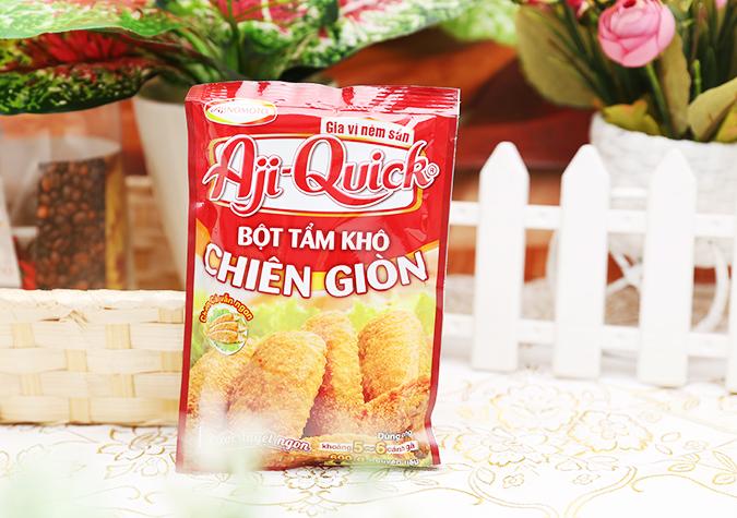 Bột tẩm khô chiên giòn Aji-Quick Ajinomoto gói 42g