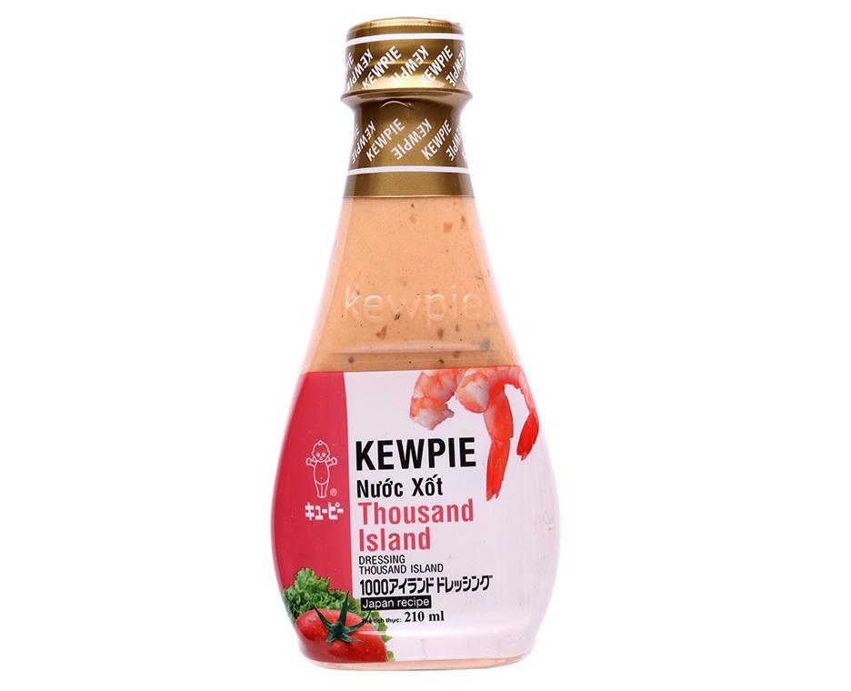 Nước xốt Thousand Island Kewpie chai 210ml