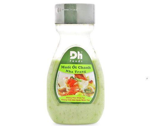 Muối ớt chanh Nha Trang Dh Foods lọ 200g