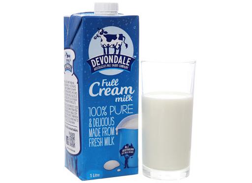 Sữa TT Devondale nguyên chất 1lit