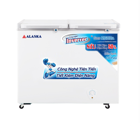 Tủ đông mát Alaska FCA-4600CI Inverter (450L)