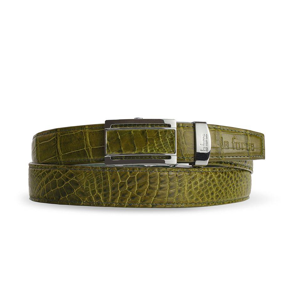 Thắt lưng cá sấu nam DLA1200-02B-H-XC