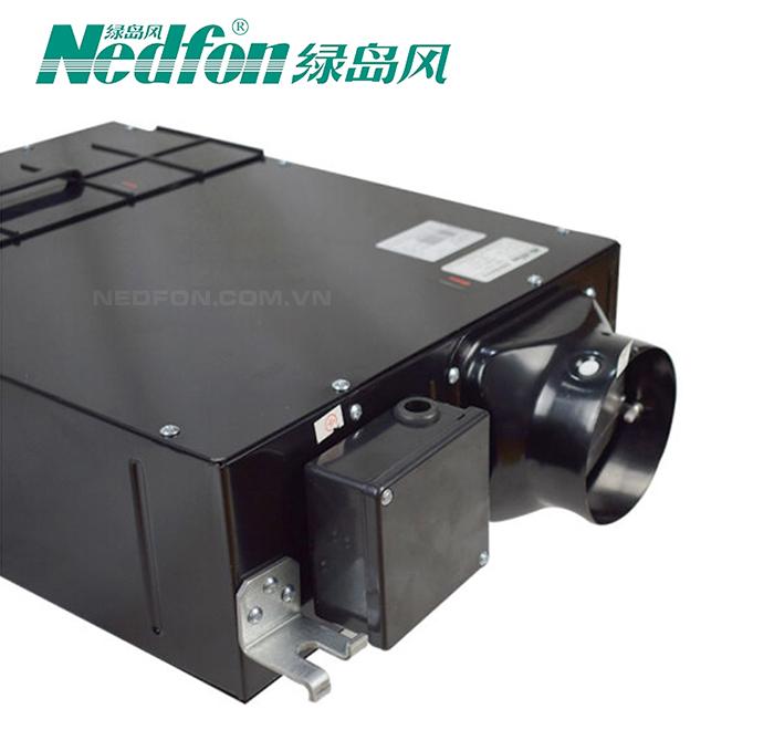 Quạt thông gió âm trần nối ống siêu mỏng có lọc Hepa - Nedfon DGT15-45H