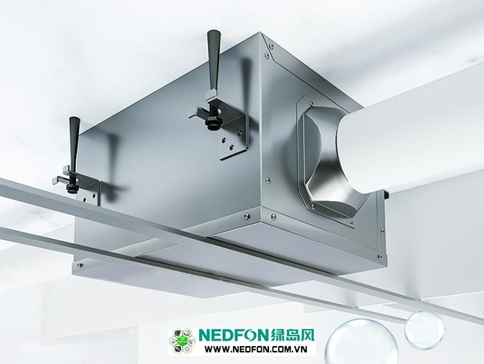 Quạt thông gió âm trần nối ống Nedfon DPT15-42B